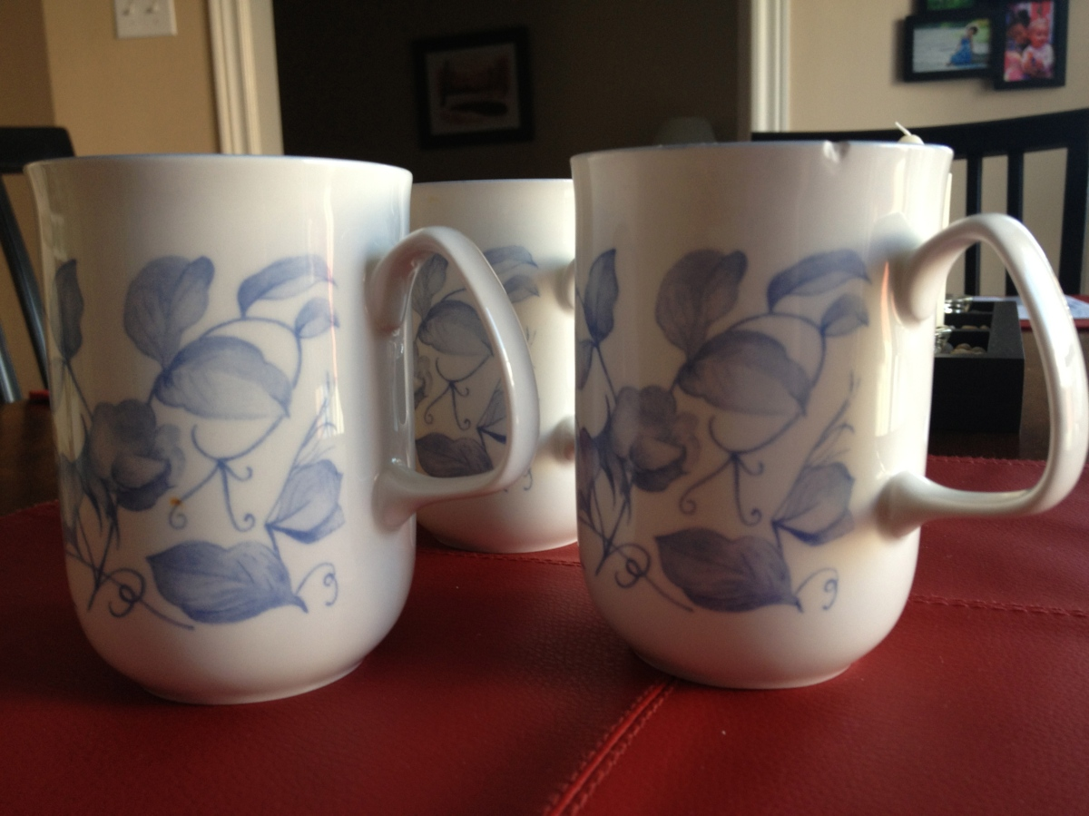 Nanny's Mugs: The Agony of Dementia - A Sermon for Easter 5C