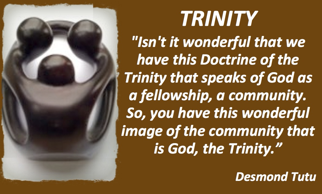trinity and god There is one god—father, son, and holy spirit, a unity of three co-eternal persons god is immortal, all-powerful, all-knowing, above all, and ever present.