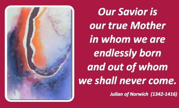 True Mother Julian of Norwich