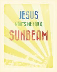 jesus sunbeam
