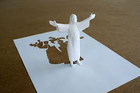 Peter Callesen's Papercut Resurrection