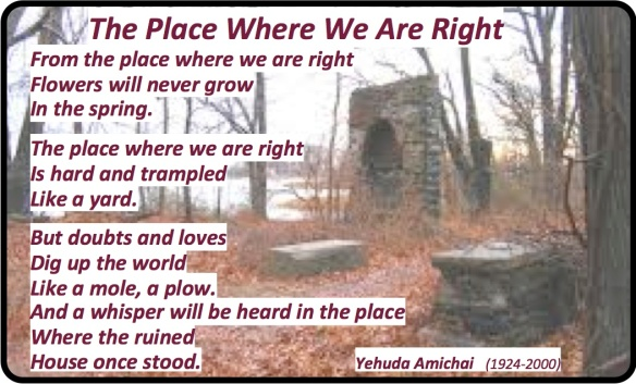 The Place Where We Are Right