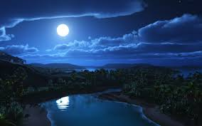 nightsky moon