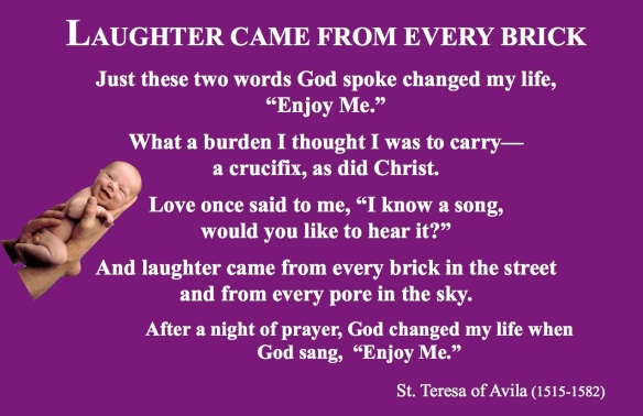 Laughter St Teresa pastordawn