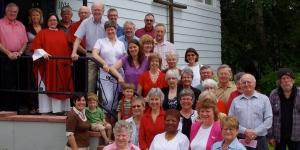 Holy Cross congregation pastorDawn