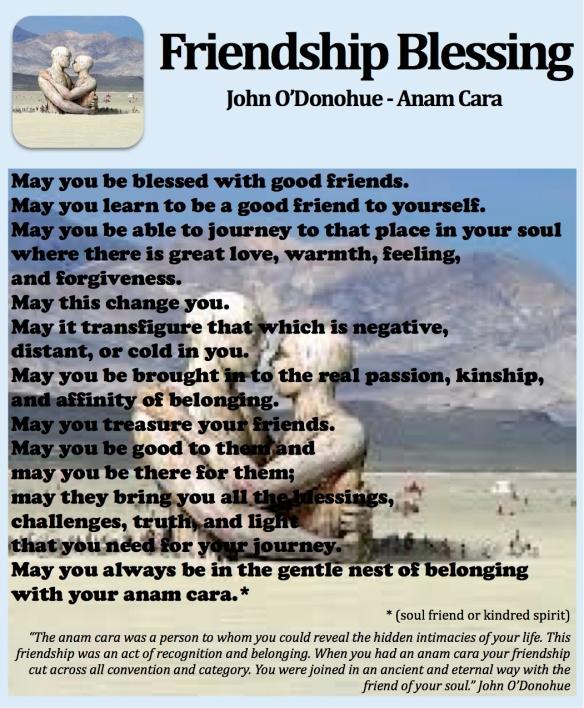 Friendship Blessing pastorDawn