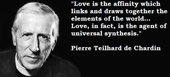 Teilhard Love